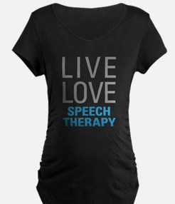 Speech Therapy Maternity T-Shirt