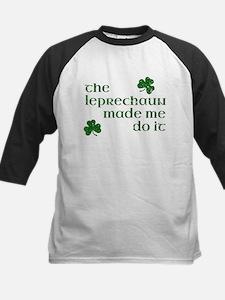 The Leprechaun Made Me Do It (Gree Baseball Jersey