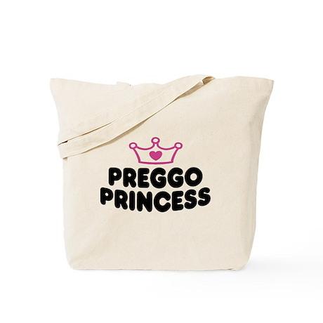 Preggo Princess Tote Bag