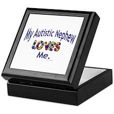 My Autistic Nephew Loves Me Keepsake Box
