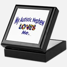 My Autistic Nephew Loves Me Keepsake Box