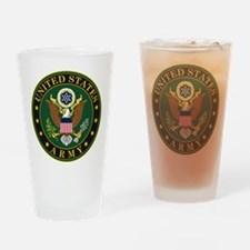 US Army Drinking Glass