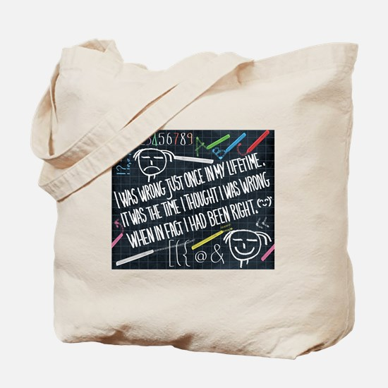 philosophy of life Tote Bag