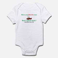 Have you beered your boat cap Infant Bodysuit
