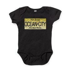 Ocean City NJ Tag Apparel Baby Bodysuit