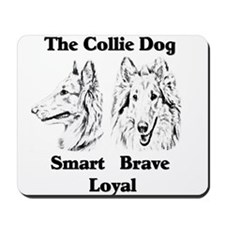 Collie Character Traits Mousepad