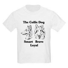 Collie Character Traits Kids T-Shirt