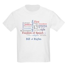 Unique Bill rights T-Shirt