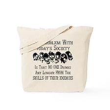 Skulls Of Our Enemies Tote Bag