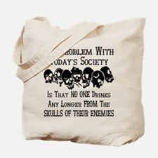 Skulls Of Our Enemies Tote Bag