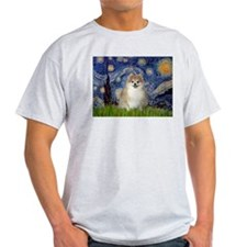 Starry Night Pomeranoan T-Shirt