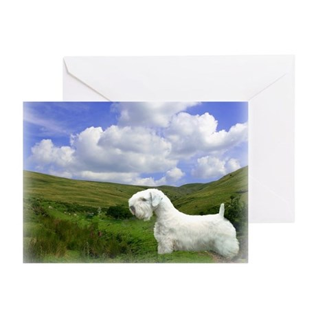 Welsh Valley Sealyham Greeting Cards (Pk of 20)