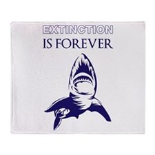 Extinction Throw Blanket