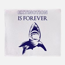 Extinction Throw Blanket
