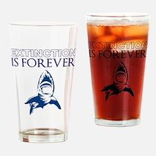 Extinction Drinking Glass