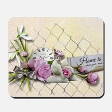 Home is where your mom is! Mousepad