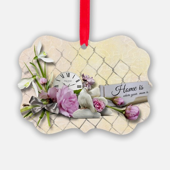 Home is where your mom is! Ornament