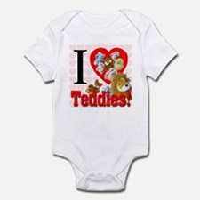 I Love Teddies Infant Bodysuit