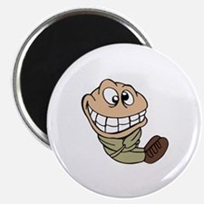 CARTOON IN STRAIGHT JACKET Magnets