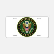 US Army Aluminum License Plate