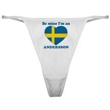 Andersson, Valentine's Day Classic Thong