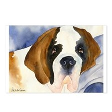 Saint Bernard Postcards (Package of 8)