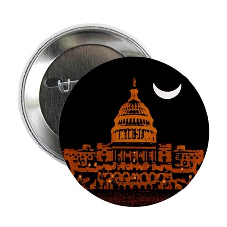 "Moonrise Over DC 2.25"" Button (100 pack)"