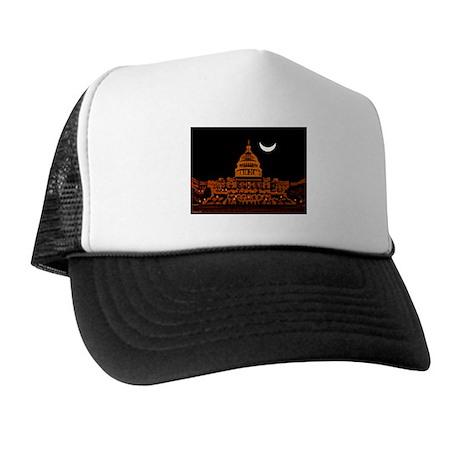 Moonrise Over DC Trucker Hat