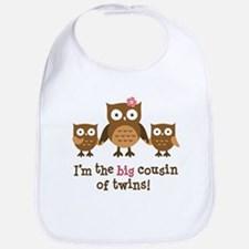 Cute Big sister twins Bib
