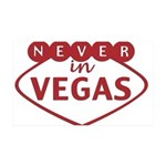 Never in Vegas Wall Decal