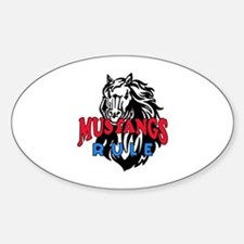 MUSTANGS RULE Decal