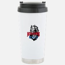 MUSTANGS RULE Travel Mug
