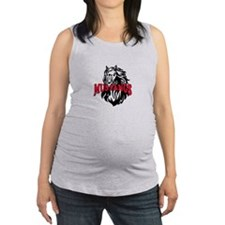 MUSTANG MASCOT Maternity Tank Top