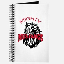 MIGHTY MUSTANGS Journal