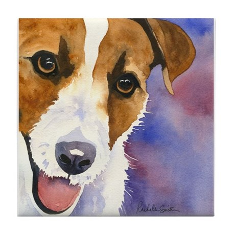 Jack Russell Tile Coaster
