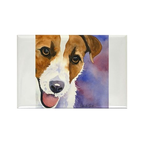 Jack Russell Rectangle Magnet (100 pack)