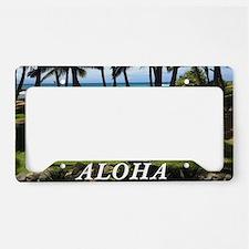 Maui Serenity (license Plate Holder)