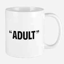 So Called Adult Quotation Marks Mugs