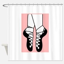IRISH DANCE SHOES Shower Curtain