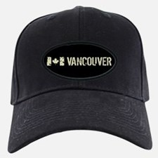 Canadian Flag: Vancouver Baseball Hat