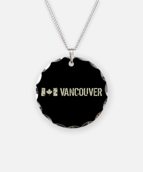 Canadian Flag: Vancouver Necklace