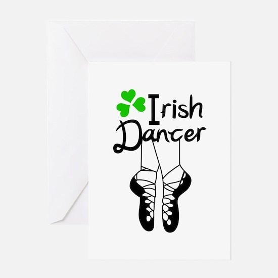 IRISH DANCER Greeting Cards