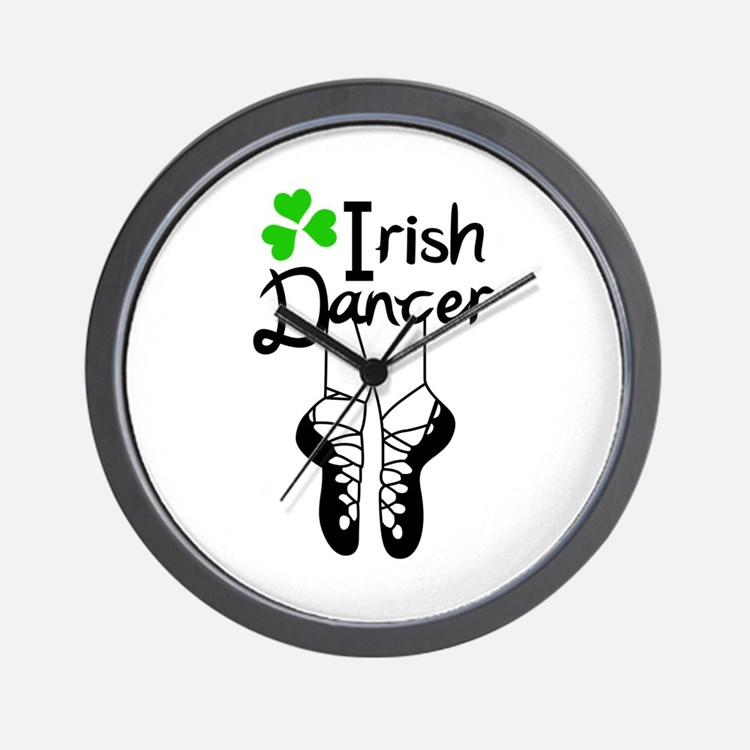 IRISH DANCER Wall Clock