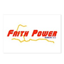 Faith Power Postcards (Package of 8)