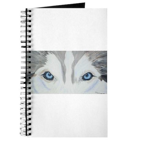 Siberian Husky Blue Eyes Pain Journal