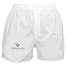 Tea baggin anyone? Boxer Shorts