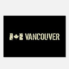 Canadian Flag: Vancouver Postcards (Package of 8)