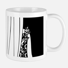 1920s vintage flappers black white drawing Mugs
