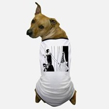 1920s vintage flappers black white dra Dog T-Shirt