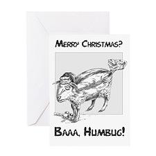 Baaa Humbug! Christmas card